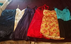 Take all 6 dresses for 50$. Sizes both small and medium. for Sale in Wenatchee, WA