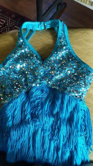 Sequins + 6-inch Fringe, sz kids 5-8 shortie costume for Sale in Seattle, WA