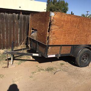 Regular Trailer 5x8x1 Heavy Duty for Sale in Escondido, CA