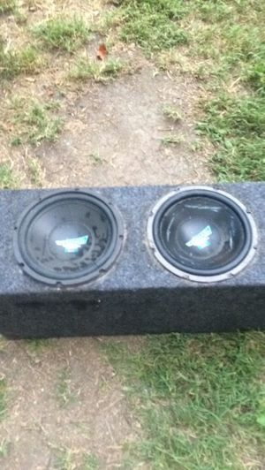 Ported subwoofer box for Sale in Bellevue, PA