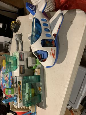 Kids toy airport for Sale in Puyallup, WA