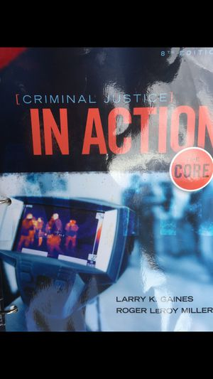 Criminal Justice In Action The Core for Sale in US