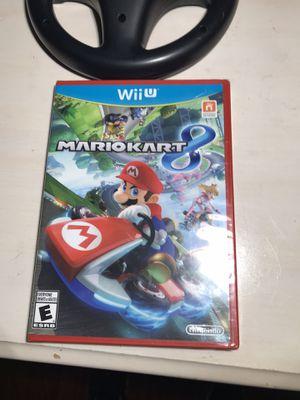 Nintendo Wii U Mario kart 8 New never open for Sale in Grand Prairie, TX
