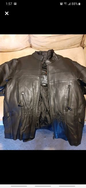 Leather jacket bikers for Sale in Wichita Falls, TX