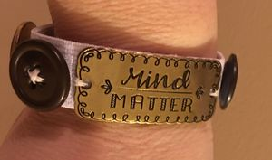 Handmade vintage bracelet with saying for Sale in Perry, GA