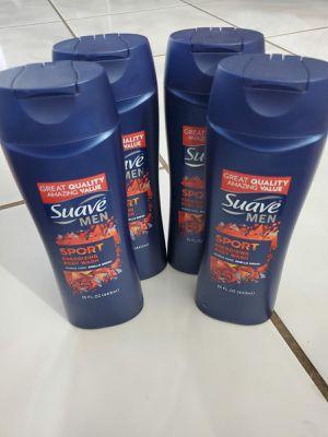 Lot of 4 suave men body wash for Sale in Miramar, FL