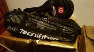 Tennis bag and racket bag for Sale in Avondale, AZ