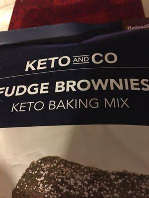 KETO FUDGE BROWN KETO BAKING MIX NO SUGAR ADDED for Sale in Las Vegas, NV