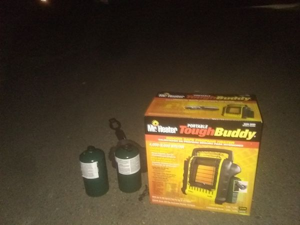 Portable tough buddy heater by Mr. Heater
