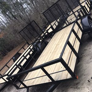 NEW 2021 UTILITY TRAILER 6x12 HIGH SIDES for Sale in Eastover, SC