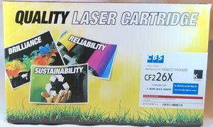 TWO (2) HP Compatible CF226X Laser Toner Cartridge, High Yield - Black for Sale in Brandon, MS