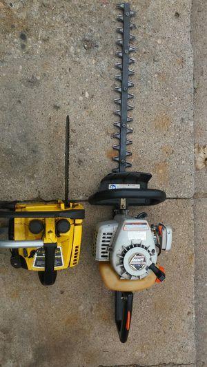 Edger, Chainsaw. & pressure washer for Sale in Royal Oak, MI