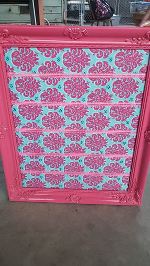 Pink picture holder for Sale in Stockton, CA