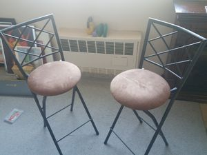 Folding stools- bar height for Sale in Bronxville, NY