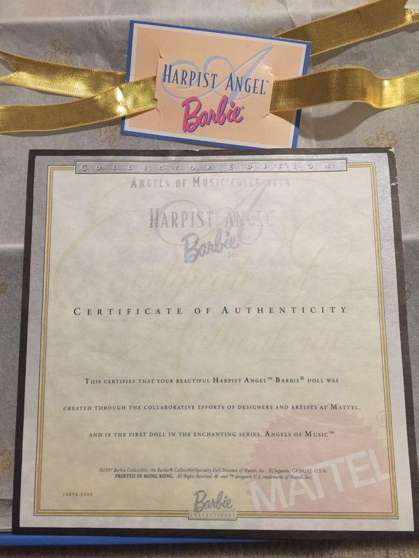 Mattel Harpist Angel Barbie - Collector Edition