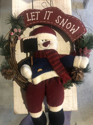 Door Christmas wreath for Sale in Chicago, IL