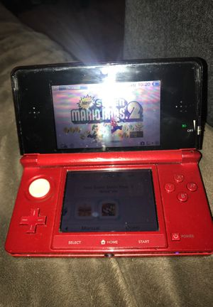 Nintendo 3ds with New Super Mario Bros. 2 for Sale in Inglewood, CA