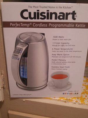 New Cusinart electric kettle for Sale in Beverly Hills, CA