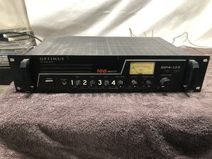 Optimus MPA-124 P.A. Amplifier for Sale in Sanger, CA