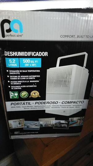 Perfect aire dehumidifier 11 pint 500 sq ft for Sale in San Antonio, TX