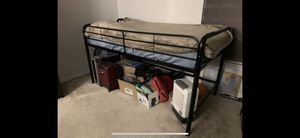 Great Condition Twin Loft Bed Metal for Sale in Perkasie, PA