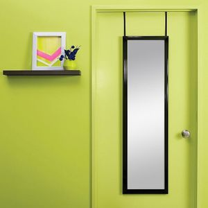 Target Over-the-Door / Wall Mounted Mirror. Luxe Black Finish. MSRP: $19.99 for Sale in Los Angeles, CA