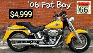 Harley Davidson Fat Boy for Sale in Saint Paul, MO