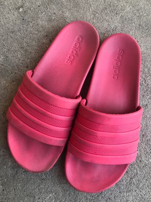 Hot Pink Adidas Slides for Sale in El Cajon, CA