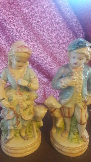 vintage collectable girl boy with dog statues 10 inch for Sale in Phoenix, AZ