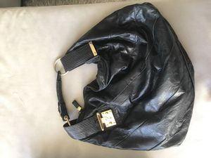 Juicy Couture leather black bag for Sale in Miami, FL
