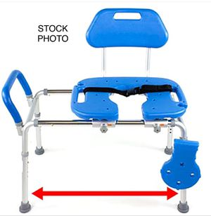HydroGlyde Premiun HD Sliding Transfer Bench/Chair by Platinum Health for Sale in El Cajon, CA