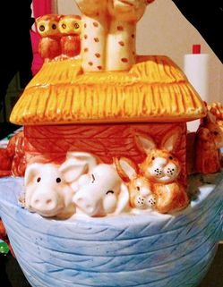 Ceramic Noah cookie jar for Sale in Youngstown,  OH