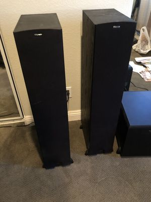 Klipsch Speakers KF28 and subwoofer SW350 for Sale in Fontana, CA
