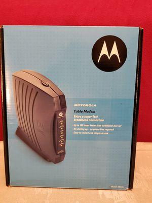 Motorola cable modem for Sale in Las Vegas, NV