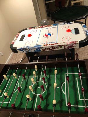 Game Room Starter Set (Foosball, Air Hockey, & Poker Table) for Sale in Allentown, NJ