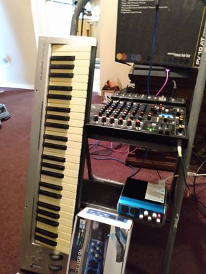 In home Music production & movie editing studio set up for Sale in Savannah, GA