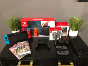 Nintendo Switch Bundled for Sale in Fresno, CA