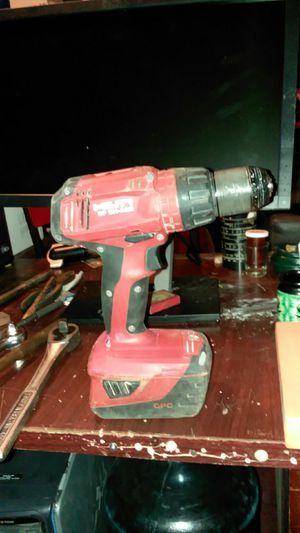 Hilti 22 volt hammer drill One battery no charger $120 for Sale in Cleveland, OH