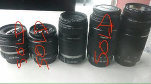 Canon lenses for Sale in Sacramento, CA