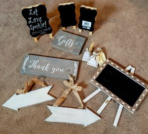 Wedding / party decor / table numbers and favors for Sale in Alexandria, VA