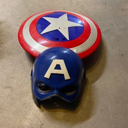 Captain America Shield And Mask for Sale in Hollywood,  FL