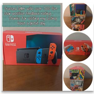 Nintendo Switch System / Console - Red blue Version - Brand New In Box - Includes Sales Receipt for Sale in Chula Vista, CA