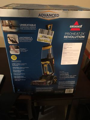 Bissell proheat 2x revolution carpet & upholstery deep cleaner for Sale in Riverside, CA
