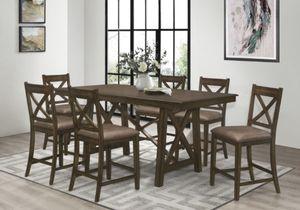 7 PIECE DINING TABLE SET for Sale in Stockbridge, GA