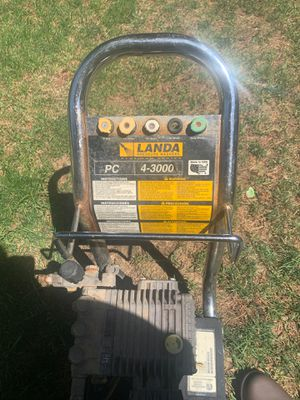 Landa pressure washer with hose and wand 3000 psi cost over 1000 brand new for Sale in Eugene, OR
