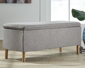 Ashley Furniture Gray Accent Bench for Sale in Santa Ana, CA