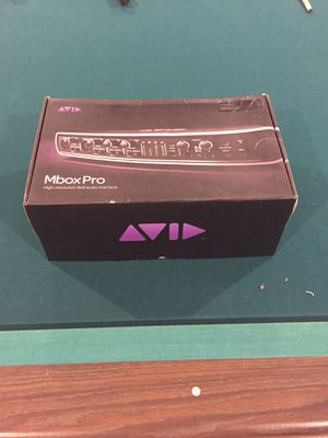 Mbox Pro Avid Audio Interface for Sale in Raleigh, NC