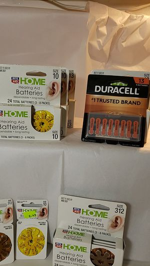 Hearing aid batteries for Sale in Lexington, KY