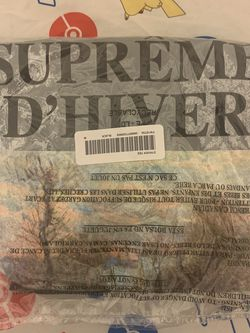 Supreme D'Hiver Tee (Medium) Black for Sale in West Covina,  CA