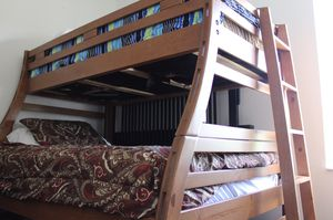 Wooden Twin Over Full Bunk Bed for Sale in Tamarac, FL